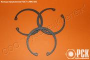 Кольцо пружинное упорное плоское ГОСТ 13943-86,  стопорное кольцо
