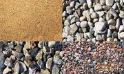 Песок,  гравий,  грунт,  щебень,  ПГС,  строительный мусор,  доставка от 1т.