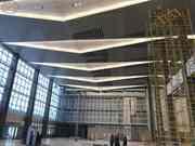 Внутренняя отделка помещений большой площади. Потолки,  полы,  стены.