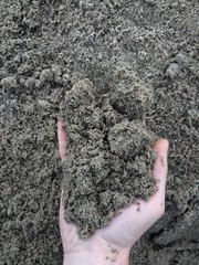Песок фракции 0-3 мытый,  доставка от 1 тонны